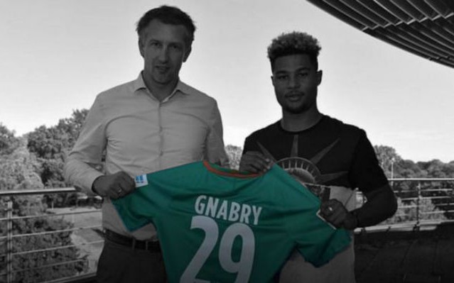 Official: Gnabry Completes Move To Werder Bremen