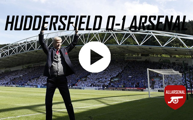 [Match Highlights] Huddersfield Town 0-1 Arsenal – All The Highlights And Best Bits