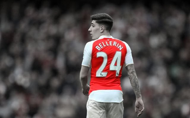 official photos 6bddf c3deb Hector Bellerin Wants To Defy Wenger's Wishes And Play For ...