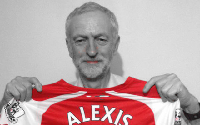 Jeremy Corbyn 'confident' Arsenal will win the league this season