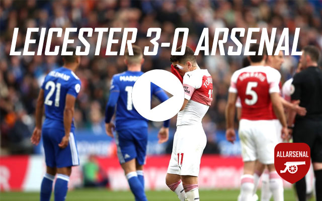 [Match Highlights] Leicester City 3-0 Arsenal – All The Goals And Highlights