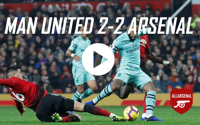 [Match Highlights] Manchester United v Arsenal – All The Goals And Best Bits