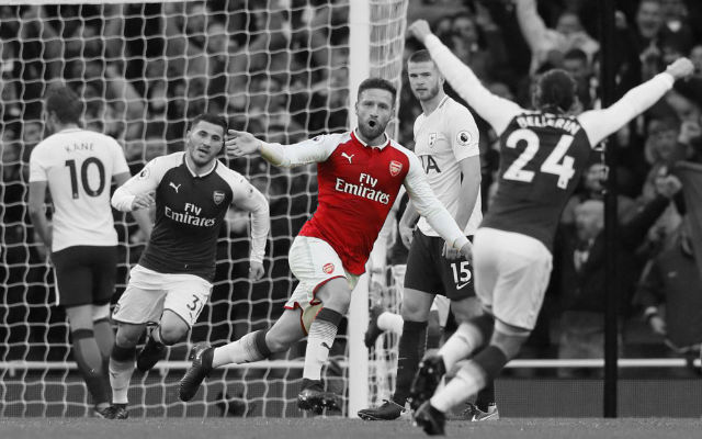 [Player Ratings] Arsenal 2-0 Spurs – Gunners Storm To North London Derby Success