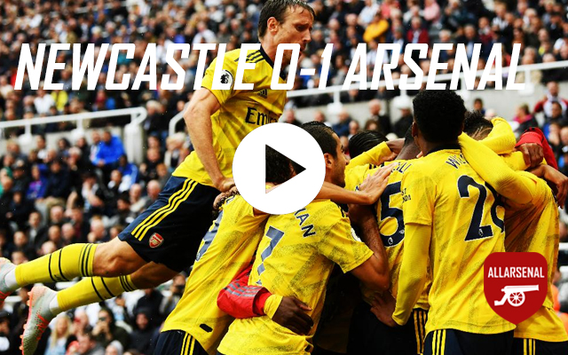 [Match Highlights] Newcastle 0-1 Arsenal – All The Highlights And Best Bits