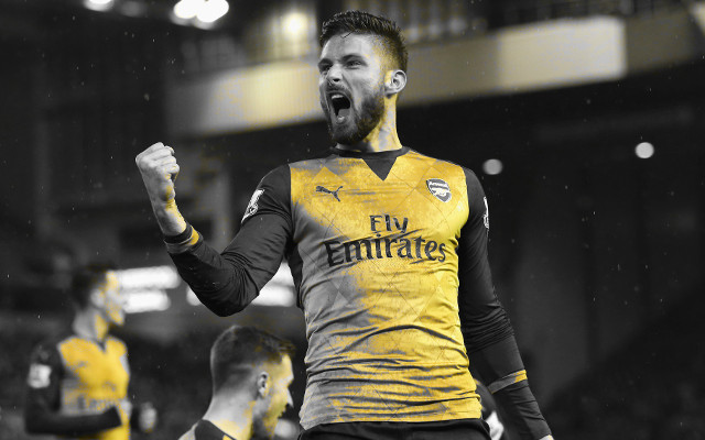 Giroud shockingly linked with Arsenal exit this summer