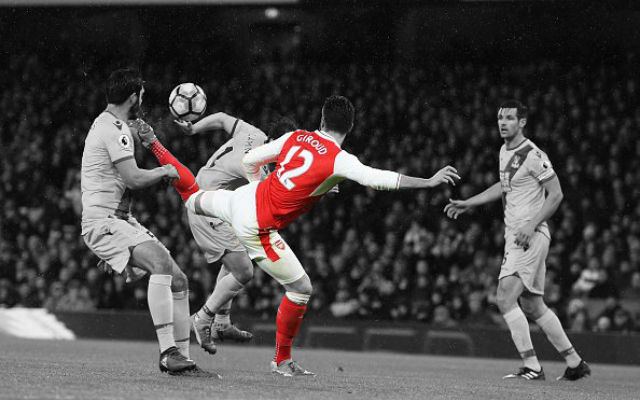 Watch: Giroud's Unbelievable Scorpion Kick Against Palace