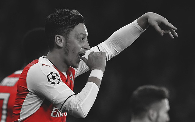 Ozil: Wenger Knows I'm Ice-Cold In Front Of Goal Now