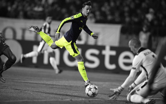 [Video] Watch Mesut Ozil's Last Gasp Stunning Winner