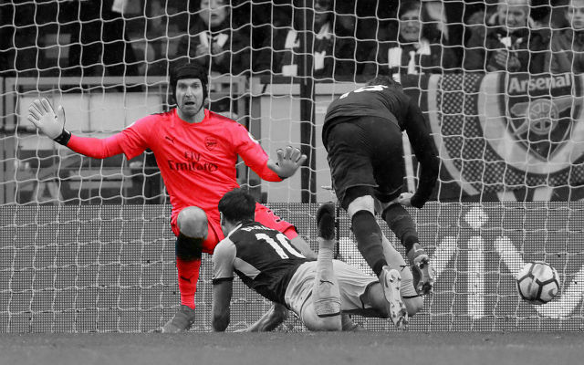 Cech Reacts To His First Arsenal Penalty Save And 200th Clean Sheet