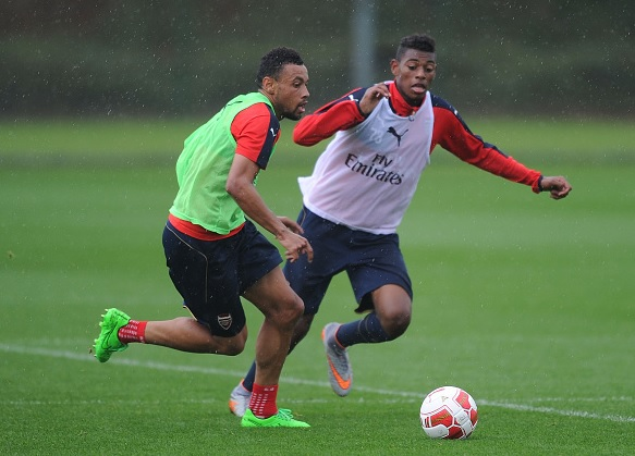 Jeff Reine Adelaide training