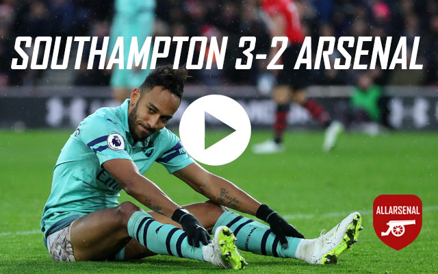 [Match Highlights] Southampton 3-2 Arsenal – All The Goals And Highlights