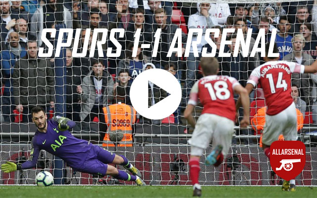 [Match Highlights] Spurs 1-1 Arsenal – All The Goals & Best Bits