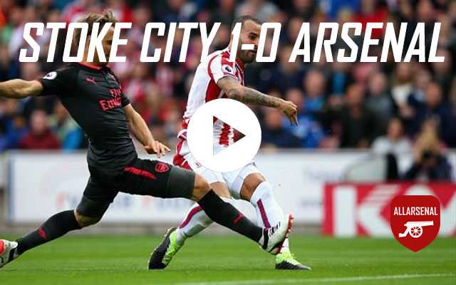 [Match Highlights] Stoke City 1-0 Arsenal – All The Goals And Best Bits