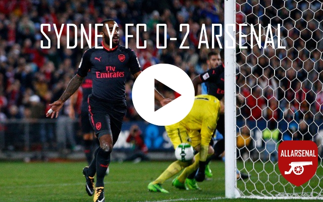 [Match Highlights] Sydney FC 0-2 Arsenal – All The Goals And Best Bits