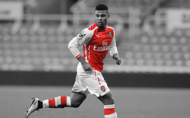 [Image] Arsenal starlet returns to training and sends powerful message