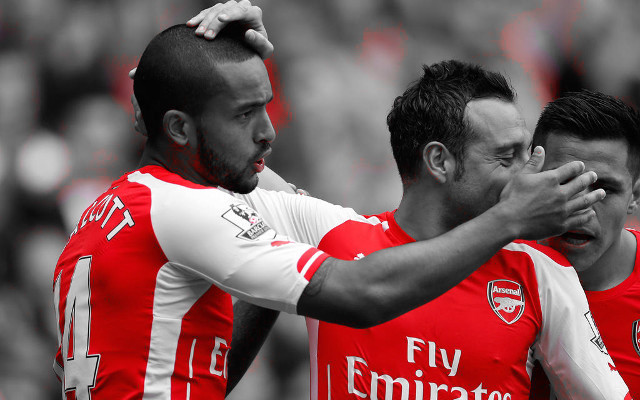 [Video] Arsenal international watch – Walcott & Cazorla bag goals in first half action