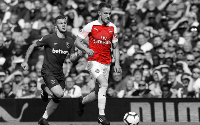 Unai Emery Speaks About Aaron Ramsey's Contract After Starring In Derby