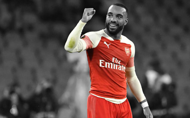 [Team News] Arsenal v Standard Liege – Update On Lacazette Injury