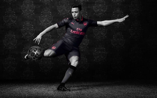 Alexis Sanchez Stars As Arsenal Unveil New Third Kit