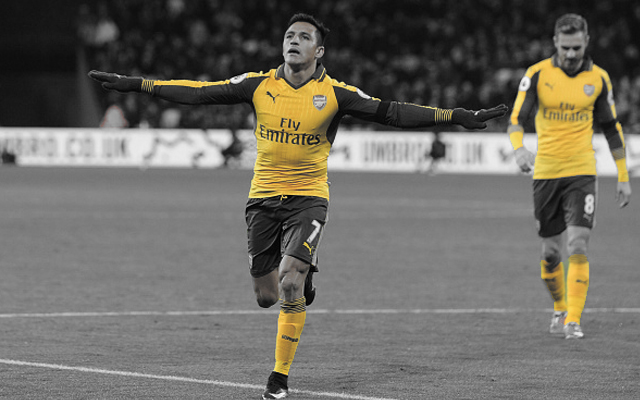 [Player ratings] 5 Star Alexis Produces Best Performance in an Arsenal Shirt This Season