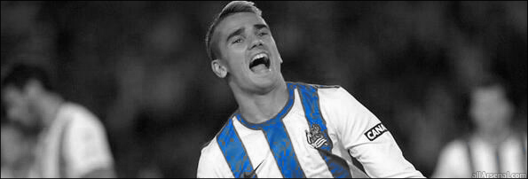 Griezmann currently plays for Spanish side Real Sociedad