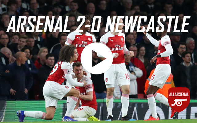 [Match Highlights] Arsenal 2-0 Newcastle – All The Goals And Highlights
