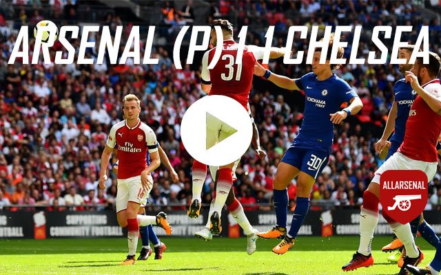 [Match Highlights] Arsenal 1-1 Chelsea – All The Goals And Best Bits