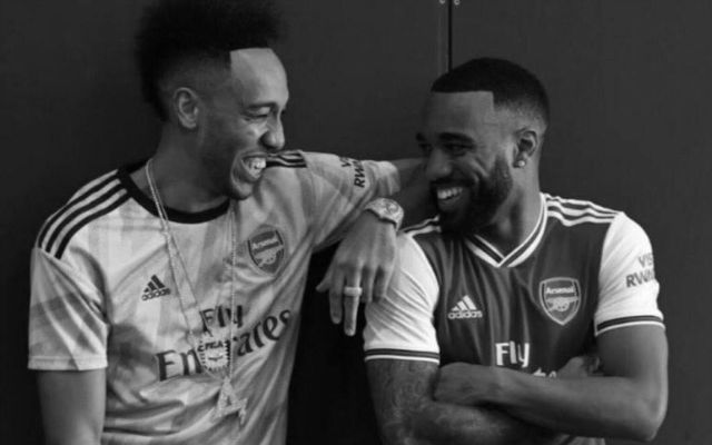 "Aubameyang: ""It Was Love At First Sight"" With Lacazette"
