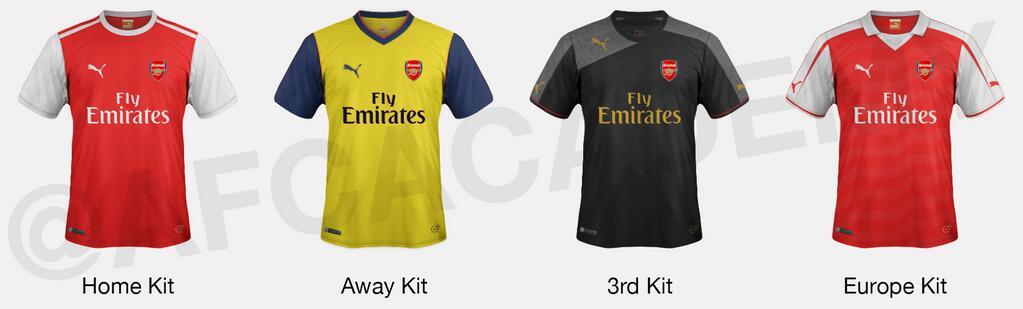 df6a82f94 Are these Arsenal s NEW Home