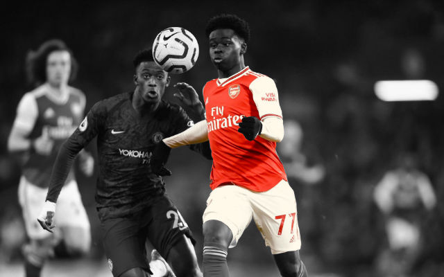 Bukayo Saka Admits He Wants To Play Further Forward For Arsenal
