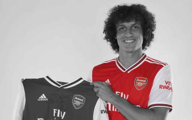 "David Luiz Names The ""Best Brazilian"" To Ever Play For Arsenal"