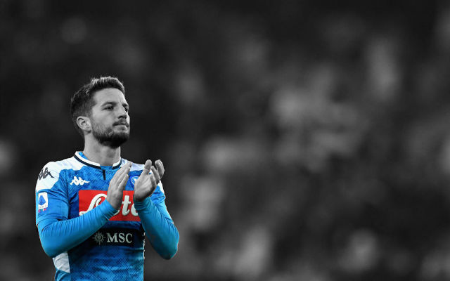 Report: Arsenal Make First Approach For Napoli's Dries Mertens