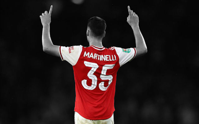 Report: Arsenal Set To Reward Martinelli With Bumper New Contract