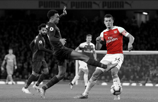 Emery Reveals Why Granit Xhaka Started At Centre-Back