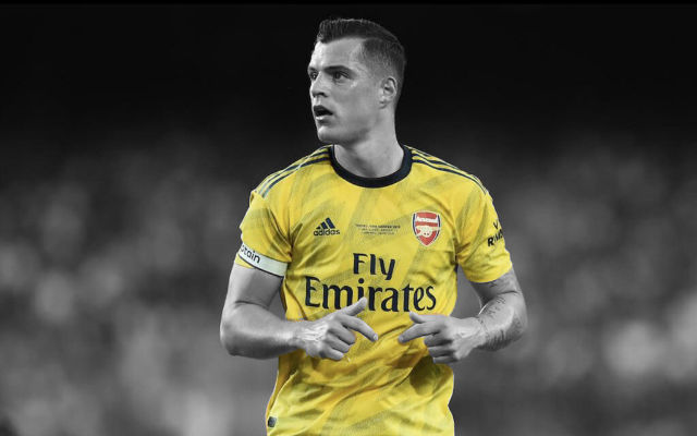 Report: Xhaka Will Not Leave Arsenal This Month Despite Bundesliga Interest