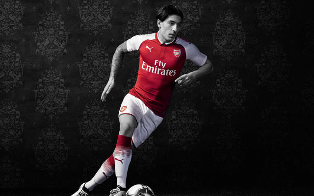 Sanchez, Bellerin And Ozil All Present As Arsenal Unveil New Home Kit