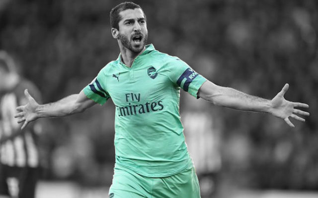 Emery Explains Why He Picks Mkhitaryan In Big Matches