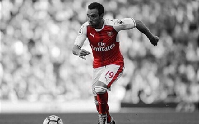 Santi Cazorla Names Return Date After Training On Emirates Pitch
