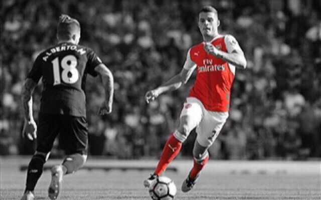 Twitter Reacts To Xhaka's Screamer As Arsenal Win 4-1 Against Hull