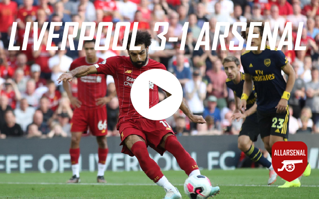 [Match Highlights] Liverpool v Arsenal – All The Goals And Best Bits