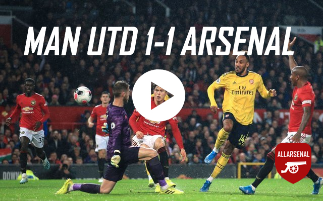 [Match Highlights] Man Utd 1-1 Arsenal – All The Goals And Best Bits