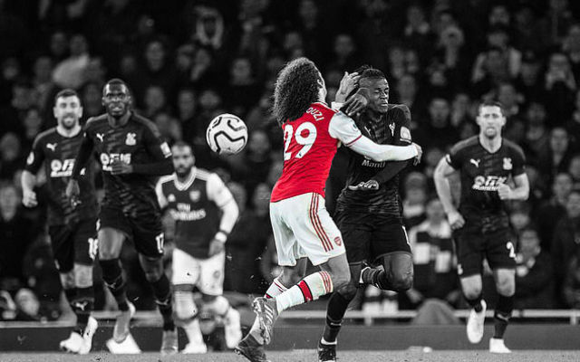 Guendouzi Explains His Shocking Foul On Wilfried Zaha