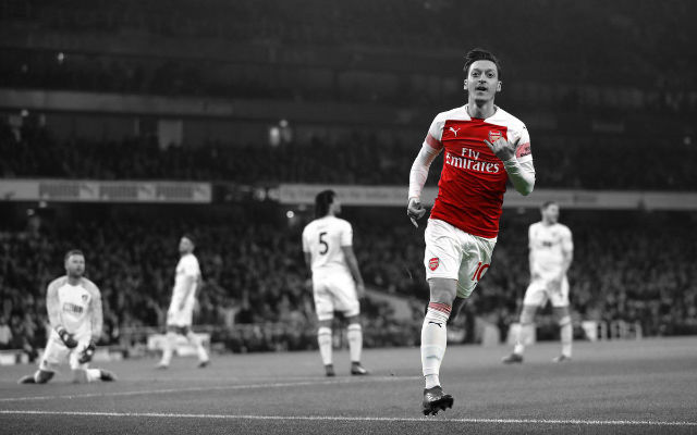 Report: MLS Side Want Mesut Ozil To Replace Wayne Rooney