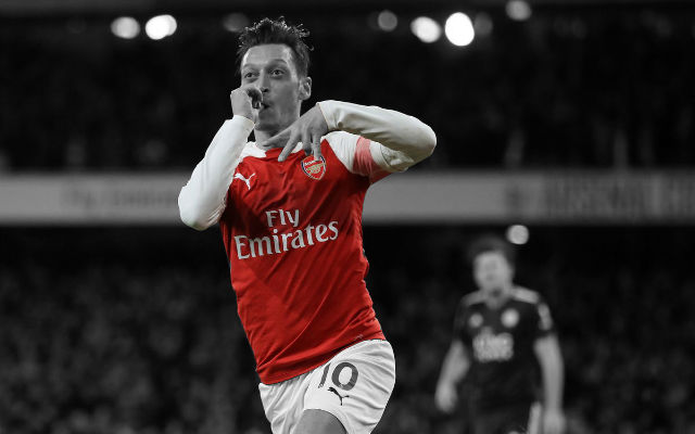 Emery Reveals The Secret Behind Mesut Ozil's Improving Form