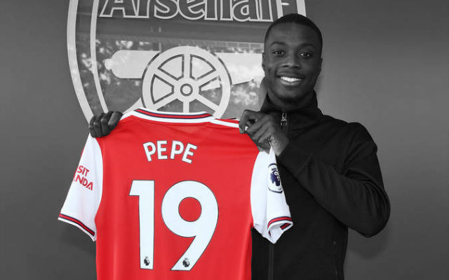 Official: Arsenal Announce Club-Record Nicolas Pepe Deal