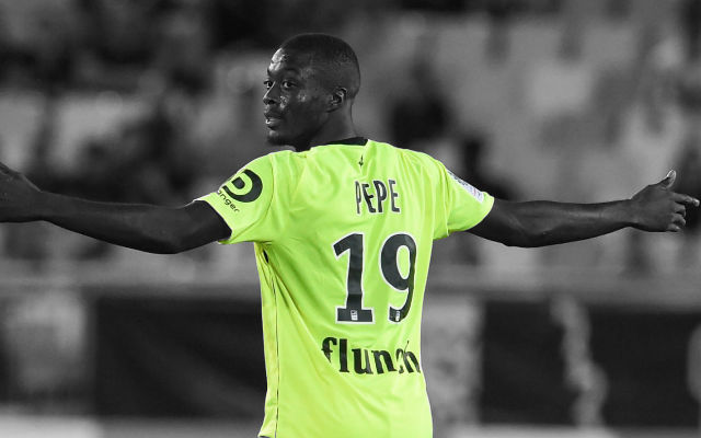 Balague: Arsenal Have Approached Lille Over Pacy Winger Nicolas Pepe