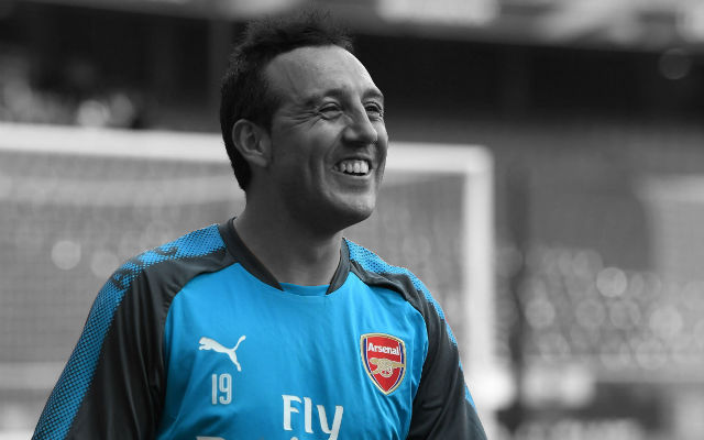 Arsenal fans getting excited by news of a sensational Santi Cazorla return