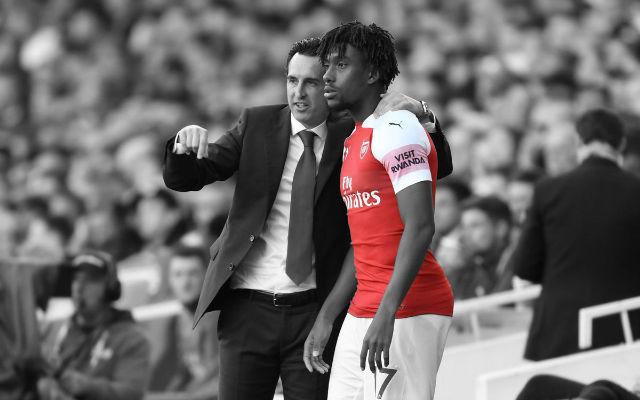 Emery Reveals Why He Susbtituted Iwobi At Half Time