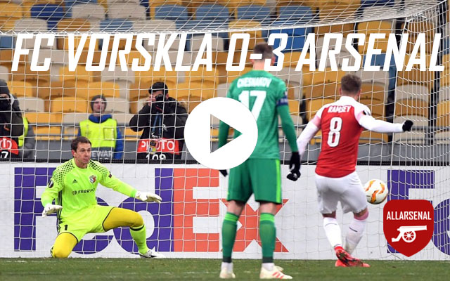 [Match Highlights] Vorskla Poltava 0-3 Arsenal – All The Goals And Best Bits